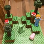 Minecraft cake - Basic
