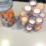 Wedding tester cakes